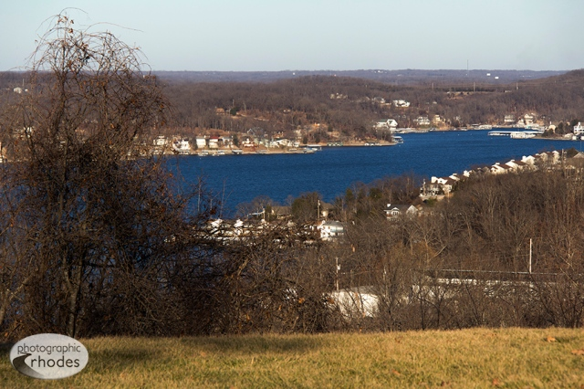 Lake of the Ozarks in January