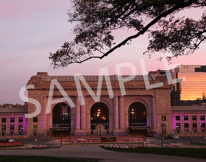 Union Station during Making Strides Against Breast Cancer
