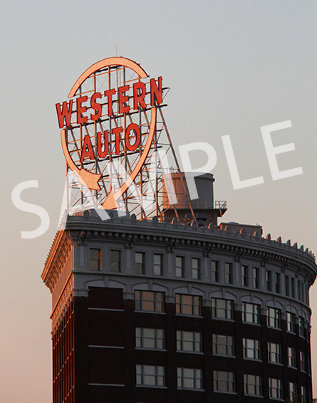 Western Auto building in Kansas City