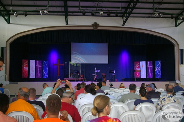Christian missionary church in Nicaragua